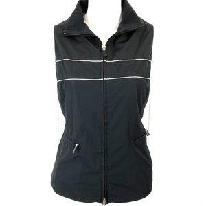 BROOKS BROTHERS Women's Black Vest Jacket ~sz 6